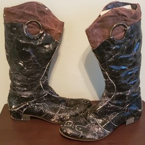 AREA FORTE Boots From L.A. California